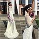 Живое фото платья со съемки:)