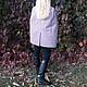Верхняя одежда ручной работы. Заказать Пальто - накидка  кейп. Анжелика (yesido). Ярмарка Мастеров. Пальто, серое пальто