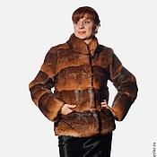 Одежда handmade. Livemaster - original item Fur coat silk. Handmade.