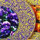 Фоторамки металлические.  Рамки для фото с росписью.  Овальные фоторамки.  Рамки для фото размером 10*15 см Узор кружевной, кружево, кружева, желтый, фиолетовый.