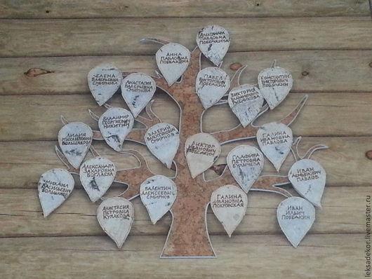 Семейное дерево - это дорогой и персональный подарок со вкусом.