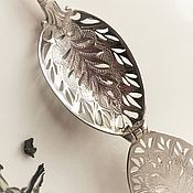 Подарки к праздникам handmade. Livemaster - original item Silver teaspoon