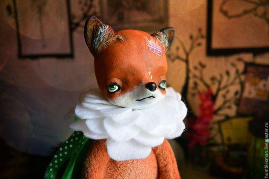 Куклы и игрушки ручной работы. Ярмарка Мастеров - ручная работа. Купить Принц цветов. Handmade. Подвижная игрушка, лисенок, цветочный