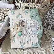 Подарки к праздникам ручной работы. Ярмарка Мастеров - ручная работа Блокнот мамы для мальчика. Handmade.