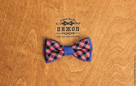 Галстуки, бабочки ручной работы. Ярмарка Мастеров - ручная работа. Купить галстук-бабочка. Handmade. Синий, красный, бабочка в подарок