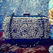 """Сумки и аксессуары ручной работы. Ярмарка Мастеров - ручная работа Клатч """"Изумрудная сказка"""". Handmade."""