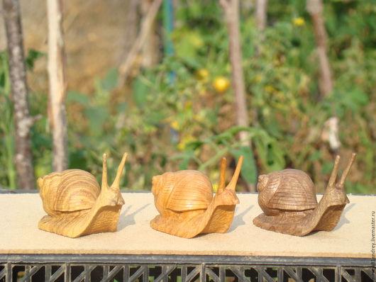 Игрушки животные, ручной работы. Ярмарка Мастеров - ручная работа. Купить улитка. Handmade. Дерево, изделия из дерева, масло