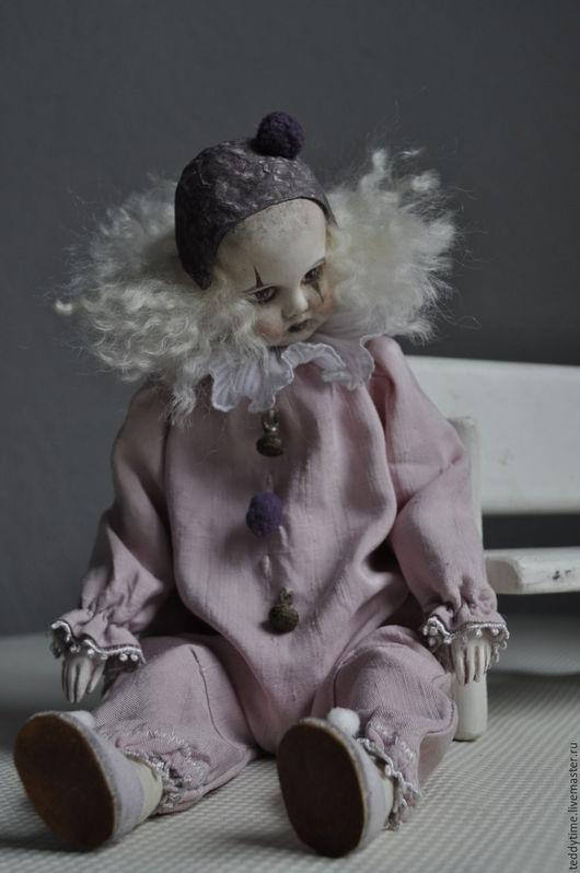 Авторская работа. Коллекционная кукла. Старый театр. Жизнь-театр. Работы Марии Морозовой.