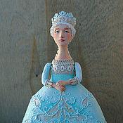 """Куклы и игрушки ручной работы. Ярмарка Мастеров - ручная работа Кукла-шкатулка """"Льдистый полдень"""". Handmade."""