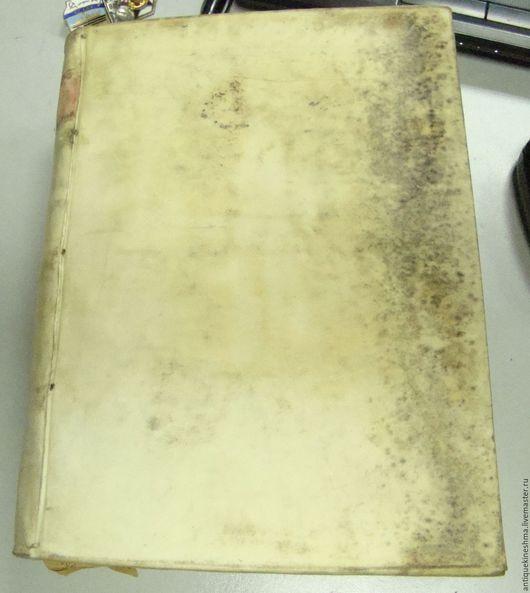 Винтажные книги, журналы. Ярмарка Мастеров - ручная работа. Купить Книга старинная Библия на Итальянском языке 1607. Handmade. Комбинированный