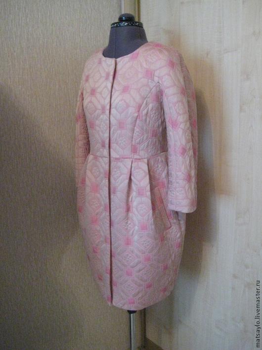 Верхняя одежда ручной работы. Ярмарка Мастеров - ручная работа. Купить Легкое пальто. Handmade. Легкое пальто, пальто на заказ