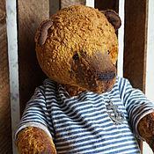 Куклы и игрушки ручной работы. Ярмарка Мастеров - ручная работа Капитан - коллекционный плюшевый медведь. Handmade.