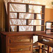 Столы ручной работы. Ярмарка Мастеров - ручная работа Угловой компьютерный стол массив бука. Handmade.