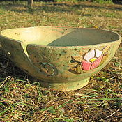 "Чаша для вязания ""Летняя"". Керамика"
