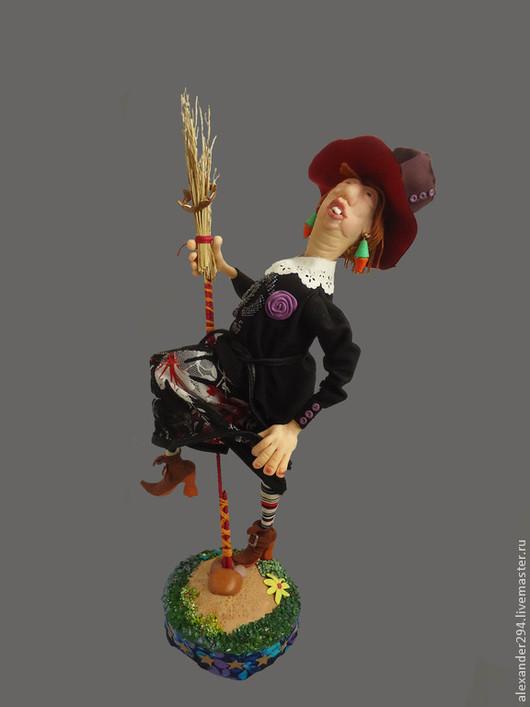 Коллекционные куклы ручной работы. Ярмарка Мастеров - ручная работа. Купить Красотка КЭТТИ  (вариант). Handmade. Разноцветный, шабаш, ткань