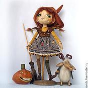 Куклы и игрушки ручной работы. Ярмарка Мастеров - ручная работа Маленькая ведьма Сабрина. Коллекционная кукла. Handmade.