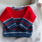Работы для детей, handmade. Livemaster - original item children`s knitwear