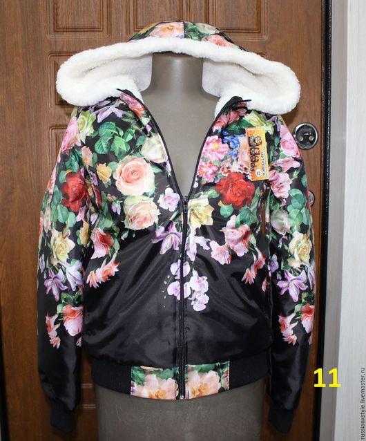 Верхняя одежда ручной работы. Ярмарка Мастеров - ручная работа. Купить Куртка плащевка. Handmade. Комбинированный, куртка женская