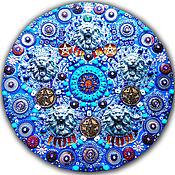 Картины и панно handmade. Livemaster - original item Decorative panel/ painting Esoteric mandala, talismans, pentacle. Handmade.