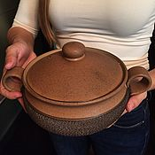 Винтажная кухонная утварь ручной работы. Ярмарка Мастеров - ручная работа Английская кастрюля-супница Denby. Handmade.