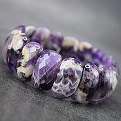 Украшения handmade. Livemaster - original item Amethyst Bracelet Natural Amethyst Bracelet. Handmade.