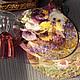 Кухня ручной работы. Досочки Цветы и точки. Lila Abil Krivi. Интернет-магазин Ярмарка Мастеров. Доска декоративная, бордовый