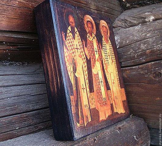 Иконы ручной работы. Ярмарка Мастеров - ручная работа. Купить Иконы на дереве Маленькая иконка для домашнего иконостаса. Handmade. Икона