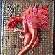 Notepad Red Dragon handmade.Notepad from scratch. Notebooks. madamLusi. My Livemaster. Фото №4