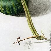 Картины и панно ручной работы. Ярмарка Мастеров - ручная работа Картина пастелью Зеленые близнецы. Handmade.