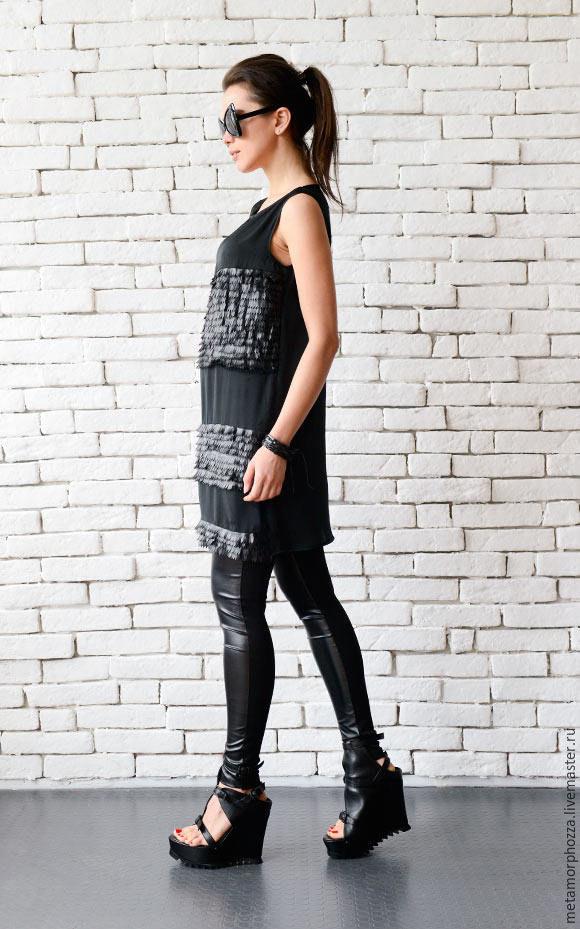 f698f6dedd7 Black Loose Tunic. METAMORPHOZA Veselina. Online shopping on My Livemaster.