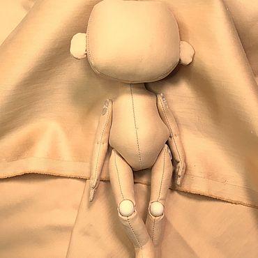 Куклы и игрушки ручной работы. Ярмарка Мастеров - ручная работа Итальянский сатин для тела шитья текстильных кукол. Handmade.