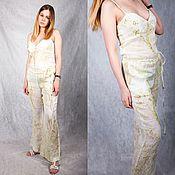 Одежда handmade. Livemaster - original item Jumpsuit linen. Handmade.