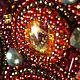 Купить колье.Татьяна Адаменко.Красно-золотое колье. Колье со стрекозой.Красное колье.Колье с часовыми механизмами.Колье с антикварными монетами.Роскошное колье.Колье с элементами Сваровски.