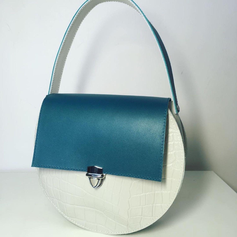 cdc5b12e60e9 Женские сумки ручной работы. Ярмарка Мастеров - ручная работа. Купить  Круглая женская сумка Hari ...