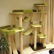 """Для домашних животных, ручной работы. Ярмарка Мастеров - ручная работа Комплекс для кошек  """"Высота"""" (подходит крупным кошкам). Handmade."""
