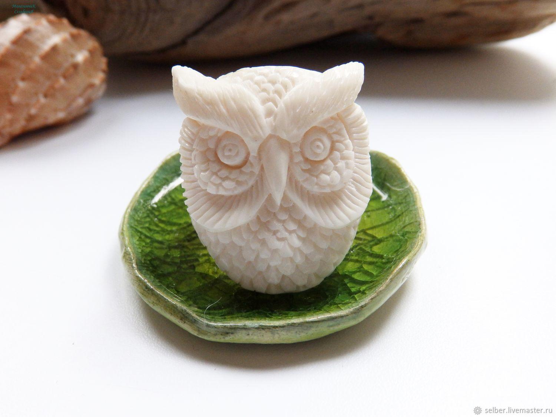 Bone Ring Wise Owl 19 R R Kupit Na Yarmarke Masterov Dj6ufcom Kolca Gatchina