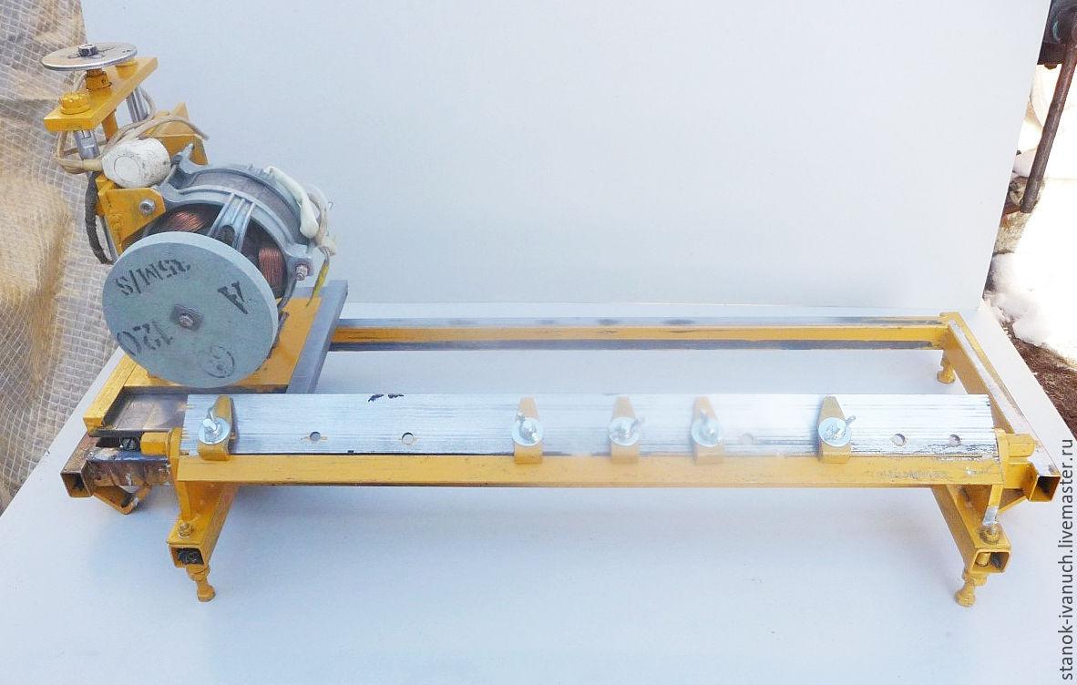 Заточной станок для ножей фуганка