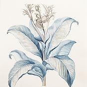 Картины и панно handmade. Livemaster - original item Botanical watercolor. Handmade.