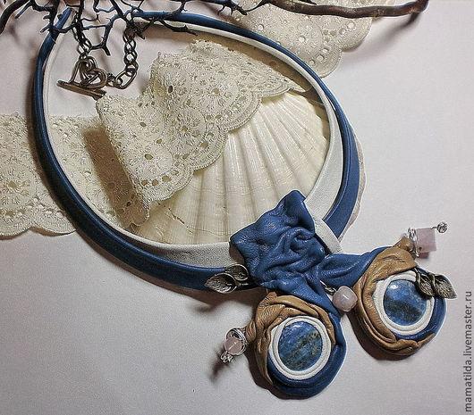 Кулоны, подвески ручной работы. Ярмарка Мастеров - ручная работа. Купить Подвеска Аминта. Handmade. Синий, подвеска синяя