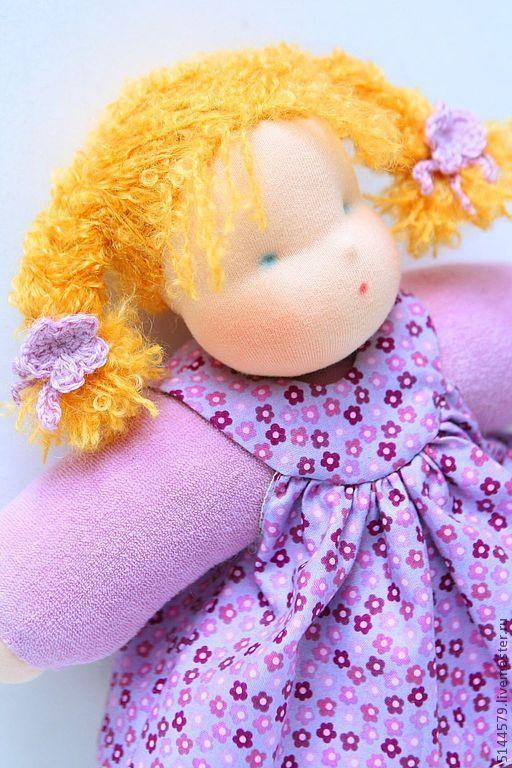 """Вальдорфская игрушка ручной работы. Ярмарка Мастеров - ручная работа. Купить Вальдорфская кукла """"Обнимашка"""". Handmade. Вальдорфская кукла"""