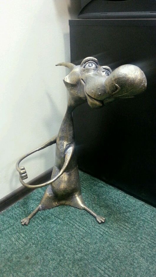 Дизайн интерьеров ручной работы. Ярмарка Мастеров - ручная работа. Купить Художественная ковка. Handmade. Худ ковка, фигурки животных