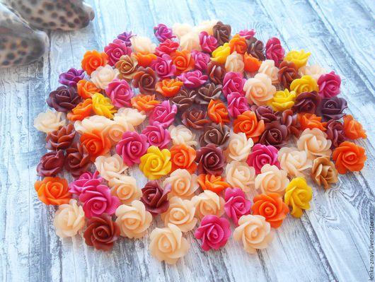 Браслеты ручной работы. Ярмарка Мастеров - ручная работа. Купить Микс из 101 розы!. Handmade. Комбинированный, микс много, цветы