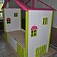 Кровать - домик это сказочное место  для приятных детских сновидений. Оформление балдахином или вуалью придаст теплоту и уют в детской комнате.