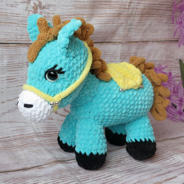 Игрушки животные, ручной работы. Ярмарка Мастеров - ручная работа. Купить Игрушка № 10: лошадка пони. Handmade.