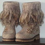 """Обувь ручной работы. Ярмарка Мастеров - ручная работа Валенки """"Релакс 2"""". Handmade."""