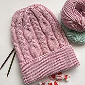 Аксессуары ручной работы. Ярмарка Мастеров - ручная работа Детская шапка для девочки. Handmade.