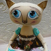 """Куклы и игрушки ручной работы. Ярмарка Мастеров - ручная работа Интерьерная игрушка """"Обожаю мышек..."""" продаётся!. Handmade."""
