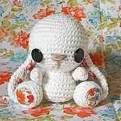 Куклы и игрушки ручной работы. Ярмарка Мастеров - ручная работа Зайка, вязанный крючком. Handmade.