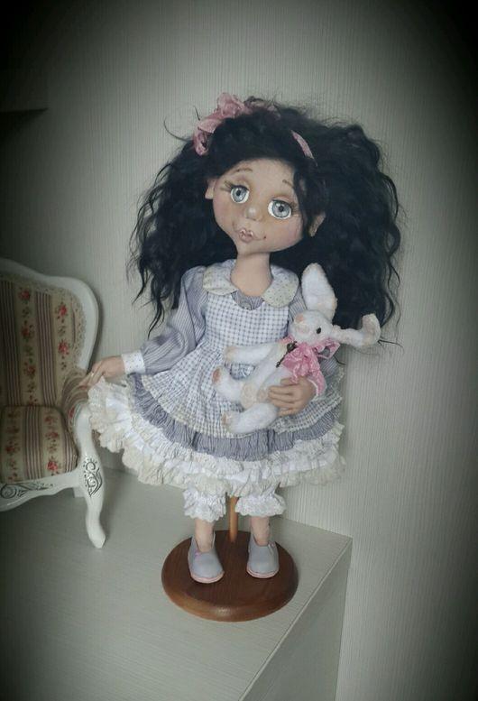 Коллекционные куклы ручной работы. Ярмарка Мастеров - ручная работа. Купить Текстильная кукла Серафима. Handmade. Кукла, кукла интерьерная