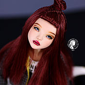 Шарнирная кукла ручной работы. Ярмарка Мастеров - ручная работа Авторская шарнирная кукла Mola. Handmade.